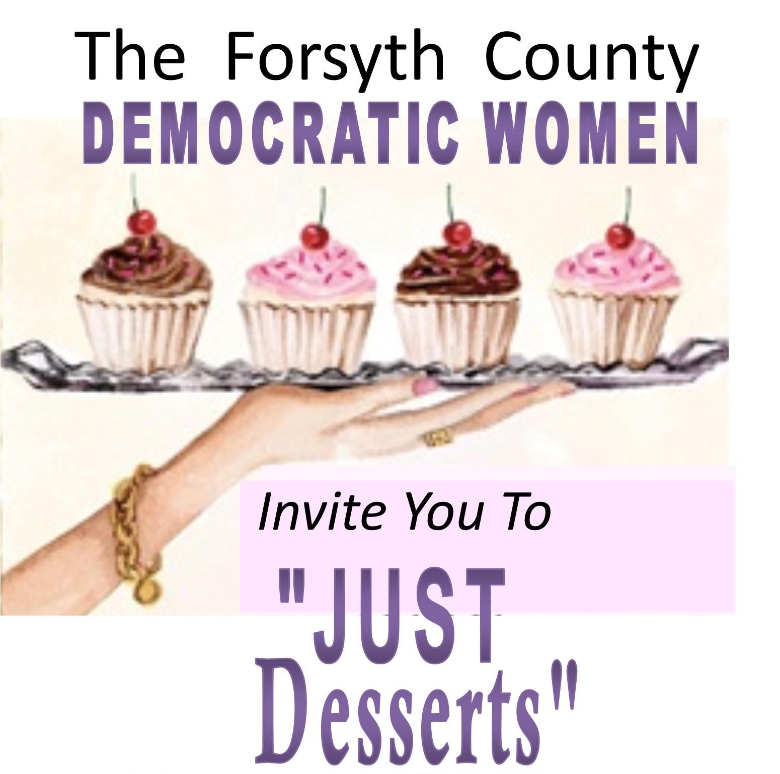 "Forsyth County Democratic Women ""Just Desserts"""