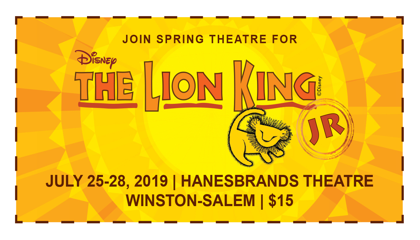 Spring Theatre to perform Disney The Lion King JR.
