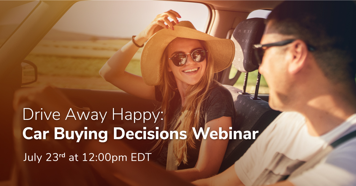 Drive Away Happy: A free Car Buying Webinar