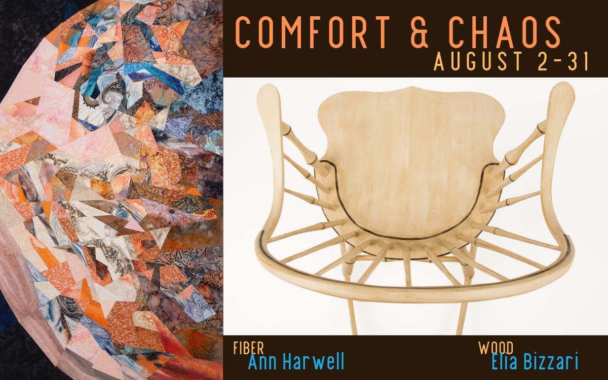Comfort & Chaos Exhibit at Piedmont Craftsmen
