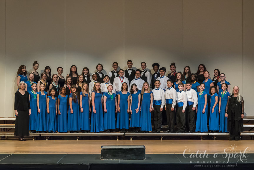 Audition for the Winston-Salem Youth Chorus