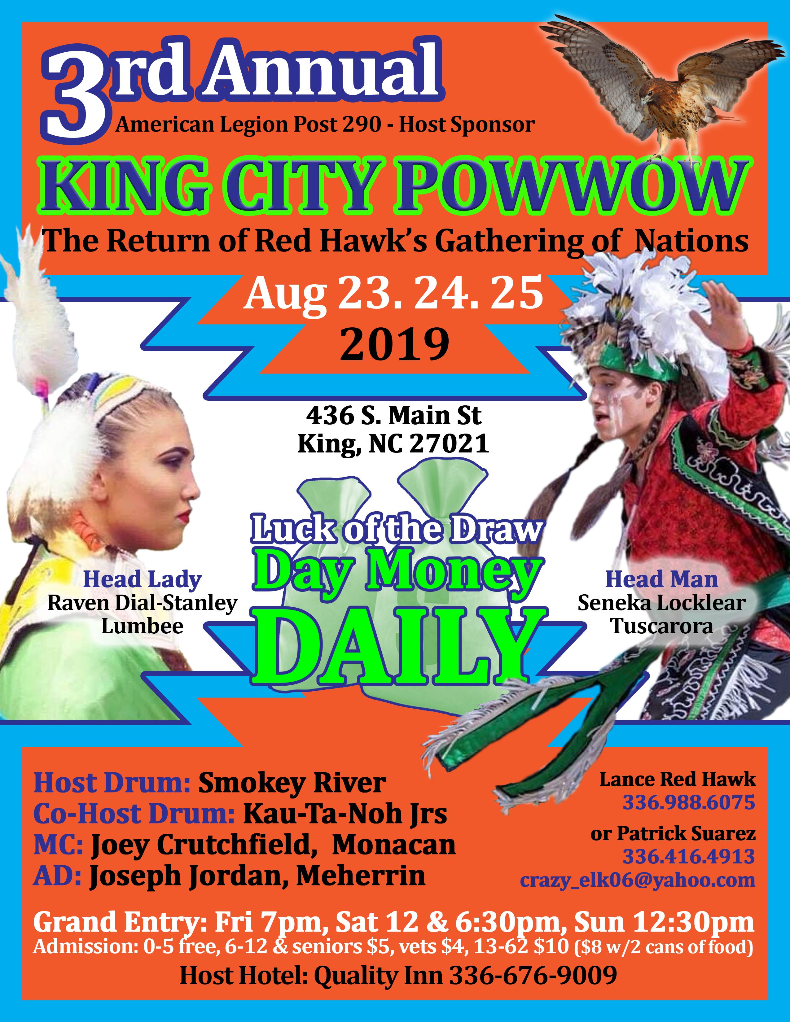 Redhawks Gathering of Nations King City Powwow