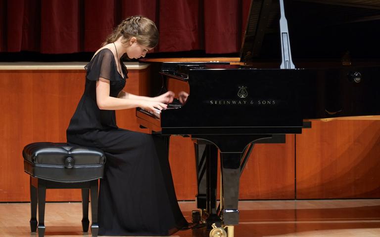 UNC School of the Arts: Piano Studio in Recital