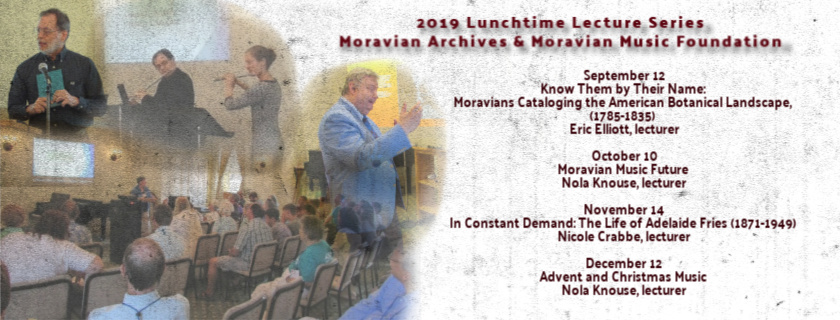 Lunchtime Lectures on Moravian Music & History