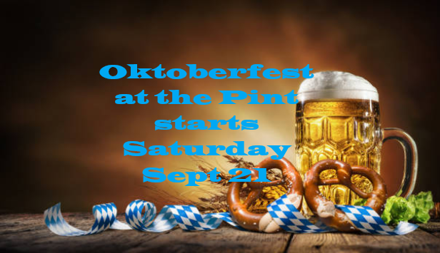 Oktoberfest Kick Off Party at the Quiet Pint
