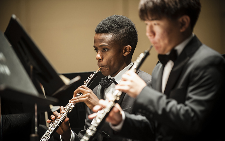 UNC School of the Arts: UNCSA Wind Ensemble: Old Songs Remembered