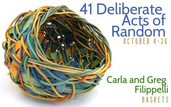 41 Deliberate Acts of Random at Piedmont Craftsmen