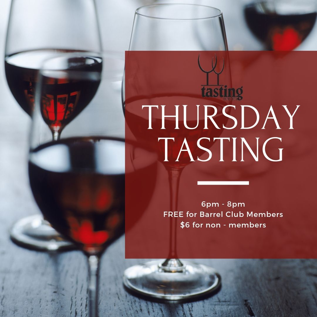 WINE TASTING - THURSDAY at Tasting Room WS