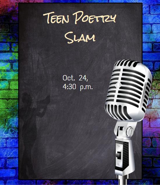 Teentober: Teen Poetry Slam