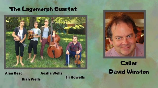 Contra Dance - Featuring music by Lagomorph Quartet with David Winston calling
