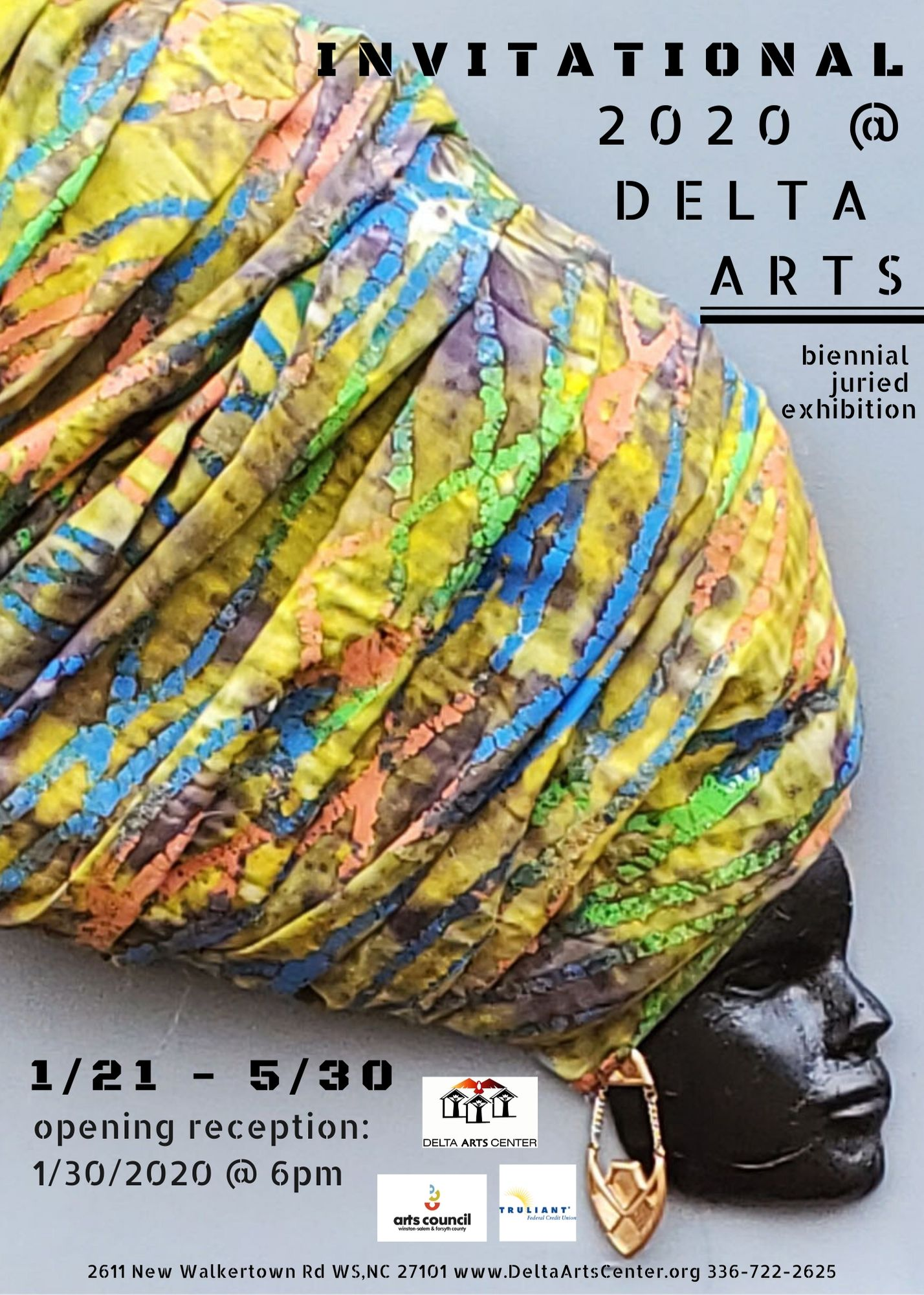 Opening Reception: Invitational 2020 @ Delta Arts