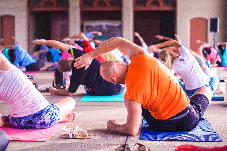 Partner Yoga w/Julie and Louis
