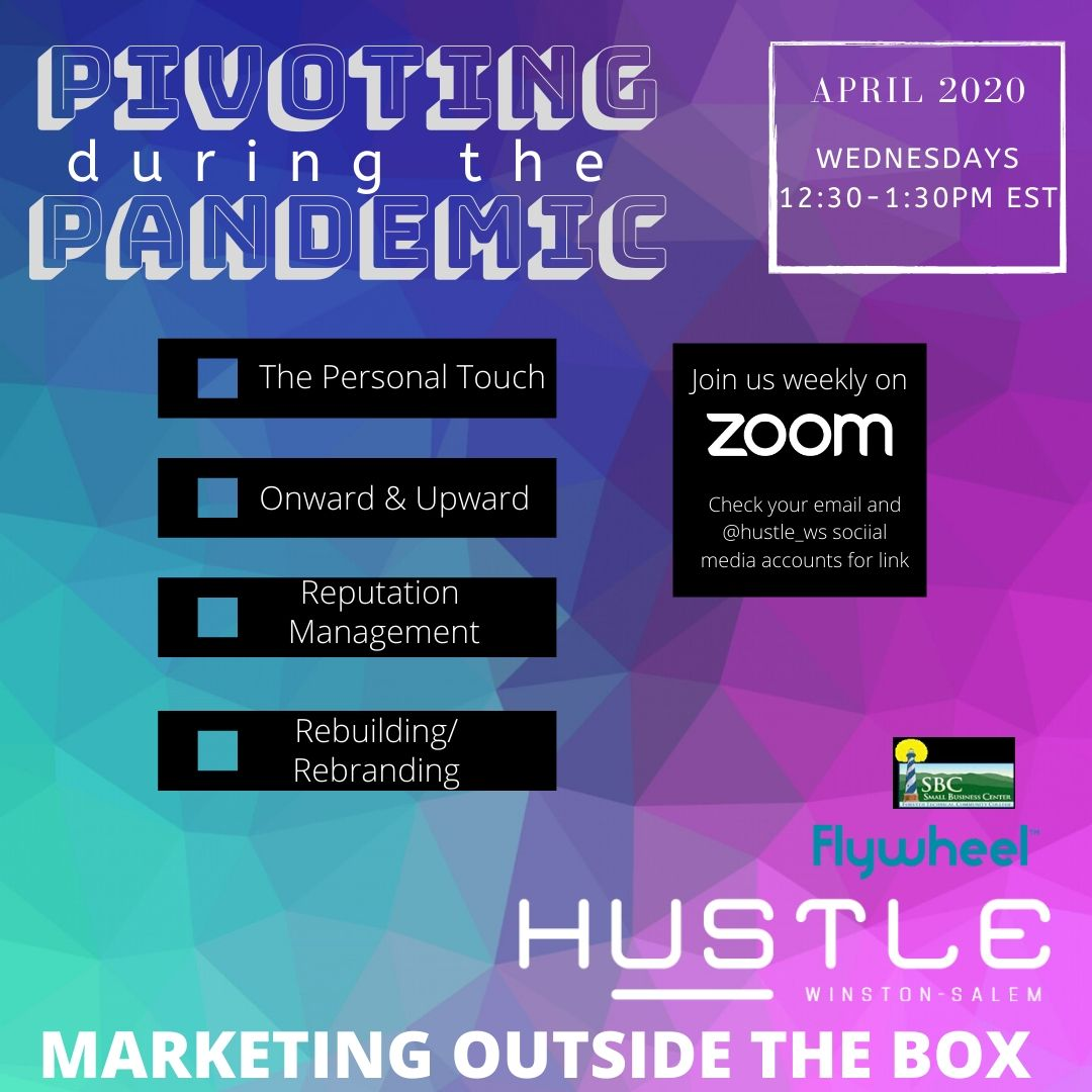 Pivoting During the Pandemic: Marketing Outside the Box