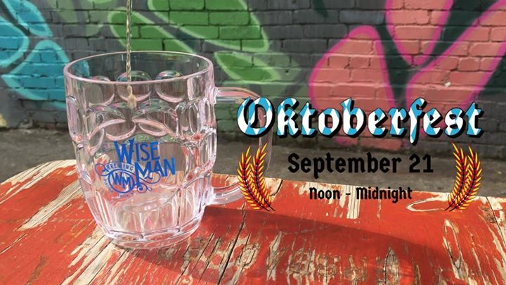 Oktoberfest at Wise Man!